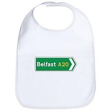 Belfast Roadmarker, UK Bib