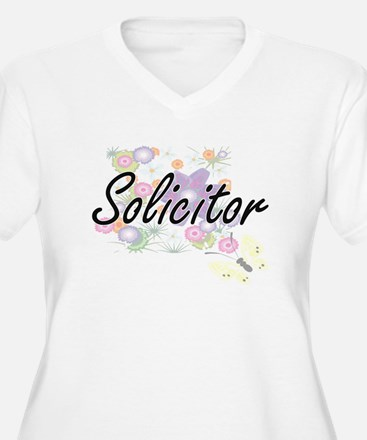 Solicitor Artistic Job Design wi Plus Size T-Shirt