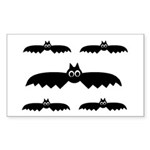 BATS Rectangle Sticker