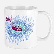 surf the web logo Mugs