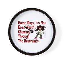 Restraints! Wall Clock