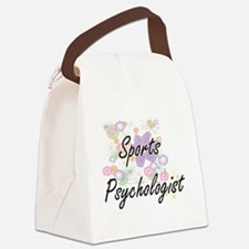Sports Psychologist Artistic Job Canvas Lunch Bag