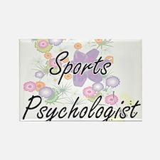 Sports Psychologist Artistic Job Design wi Magnets