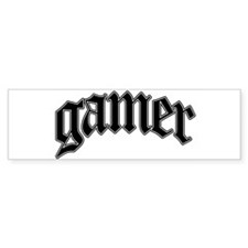 Gamer GTA Style Bumper Bumper Stickers