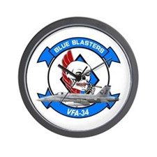 VFA-34 Blue Blasters Wall Clock
