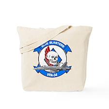 VFA-34 Blue Blasters Tote Bag