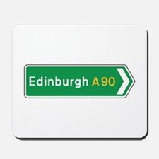 Edinburgh Roadmarker, UK Mousepad