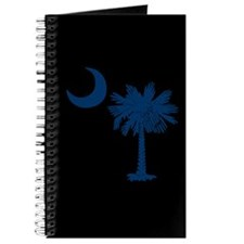 Blue and Black South Carolina Flag Journal