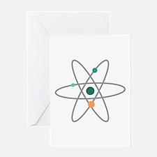 Atom Molecule Greeting Cards