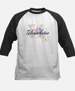 Telemarketer Artistic Job Design w Baseball Jersey