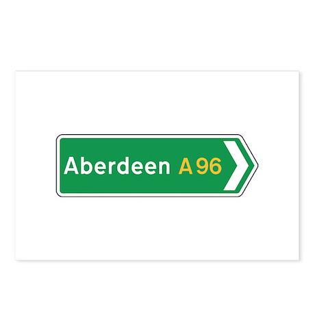 Aberdeen Roadmarker, UK Postcards (Package of 8)