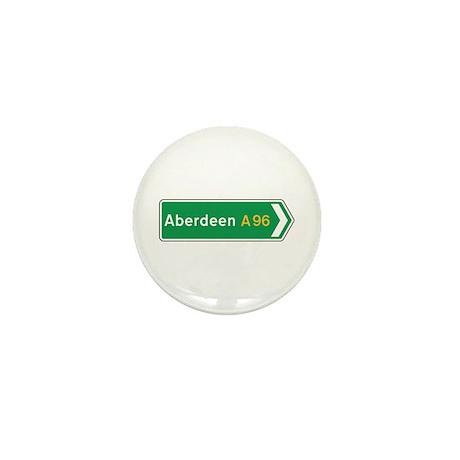 Aberdeen Roadmarker, UK Mini Button (100 pack)