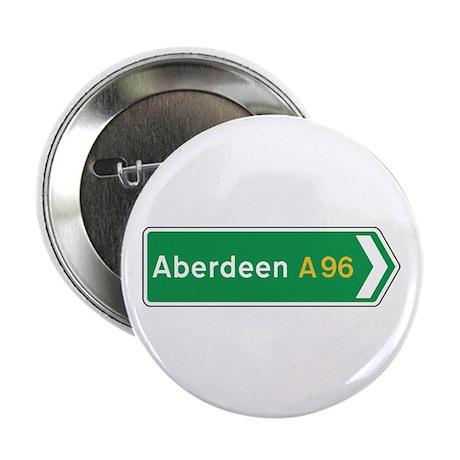 """Aberdeen Roadmarker, UK 2.25"""" Button (10 pack)"""