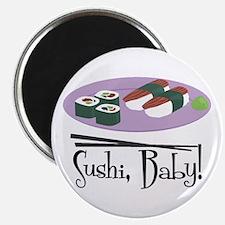 Sushi Baby Magnet