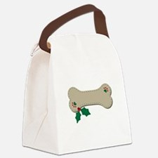 Christmas Bone Canvas Lunch Bag