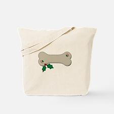 Christmas Bone Tote Bag