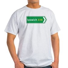 Ipswich Roadmarker, UK T-Shirt