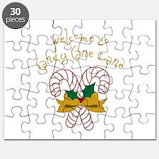 Candy Cane Lane Puzzle