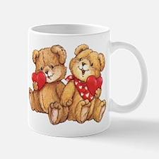 Cute Valentine Bear Couple Mugs