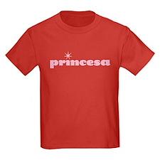 princesa kids dark t-shirt