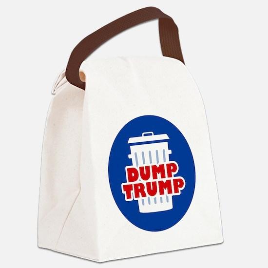 Unique Political Canvas Lunch Bag