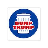 Dump trump Stickers