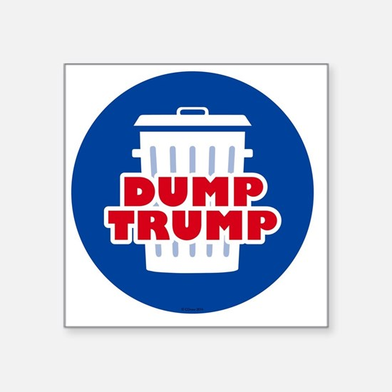 "Funny Political Square Sticker 3"" x 3"""