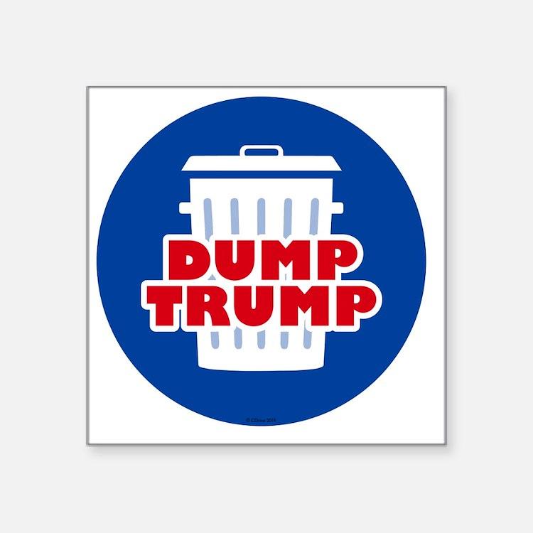 """Cute Political hillary 2016 Square Sticker 3"""" x 3"""""""