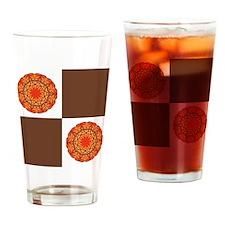 MANDALA PATTERN Drinking Glass
