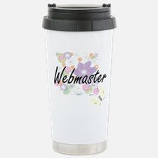 Webmaster Artistic Job Stainless Steel Travel Mug