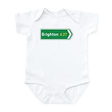 Brighton Roadmarker, UK Infant Bodysuit