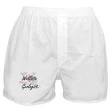 Wellsite Geologist Artistic Job Desig Boxer Shorts