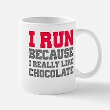 I Run Because I Really Like Cakes Mugs