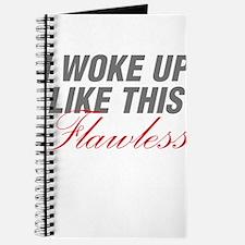 I Woke Up Like This Flawless Workout Journal