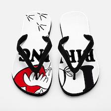 I love Birding Flip Flops