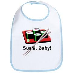 California Roll Sushi Bib