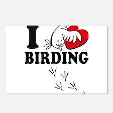 I love Birding Postcards (Package of 8)