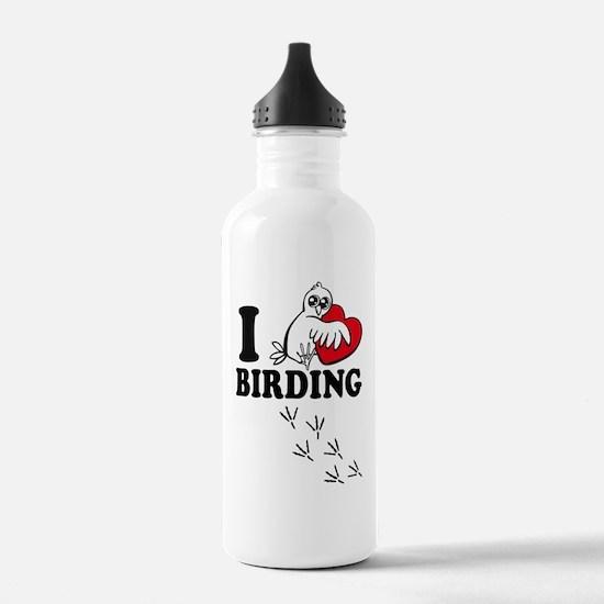 I love Birding Water Bottle