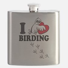 I love Birding Flask