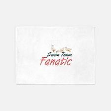Swim Fanatic 5'x7'Area Rug
