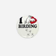 I love Birding Mini Button