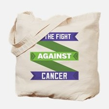 Anal Cancer Fight Tote Bag