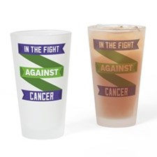 Anal Cancer Fight Drinking Glass