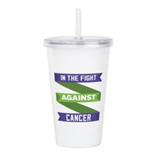 Anal Cancer Fight Acrylic Double-wall Tumbler