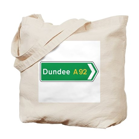 Dundee Roadmarker, UK Tote Bag