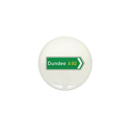 Dundee Roadmarker, UK Mini Button (100 pack)