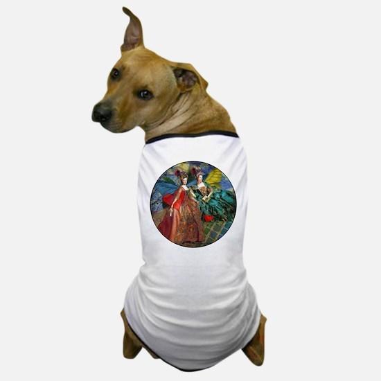 Cute Portraits women Dog T-Shirt
