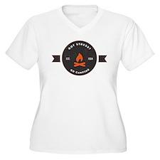 Got Stress? Go Camping. Plus Size T-Shirt