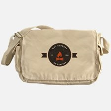Got Stress? Go Camping. Messenger Bag