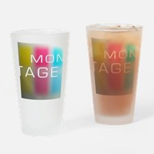 Montage TShirt Primary.png Drinking Glass